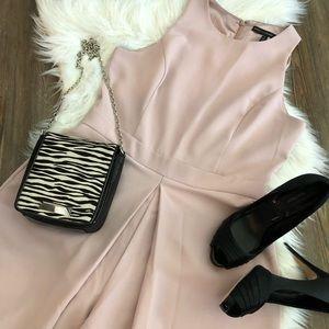 WHBM Pearl Blush Jumpsuit Size 12